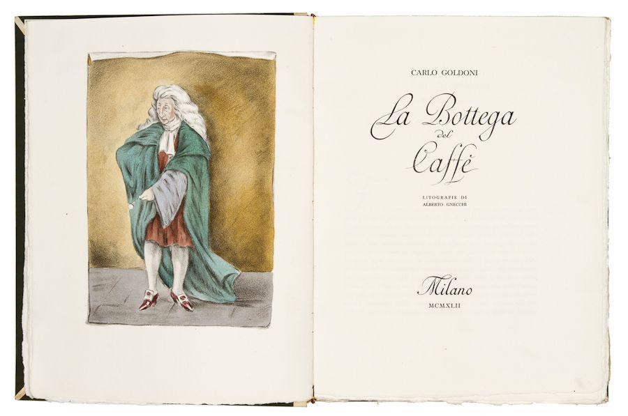 copertina La bottega del Caffé